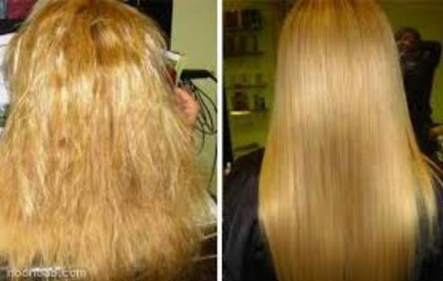 کراتینه و صافی مو در آرایشگاه زنانه