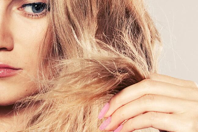 احیا موهای شکننده با کراتینه مو